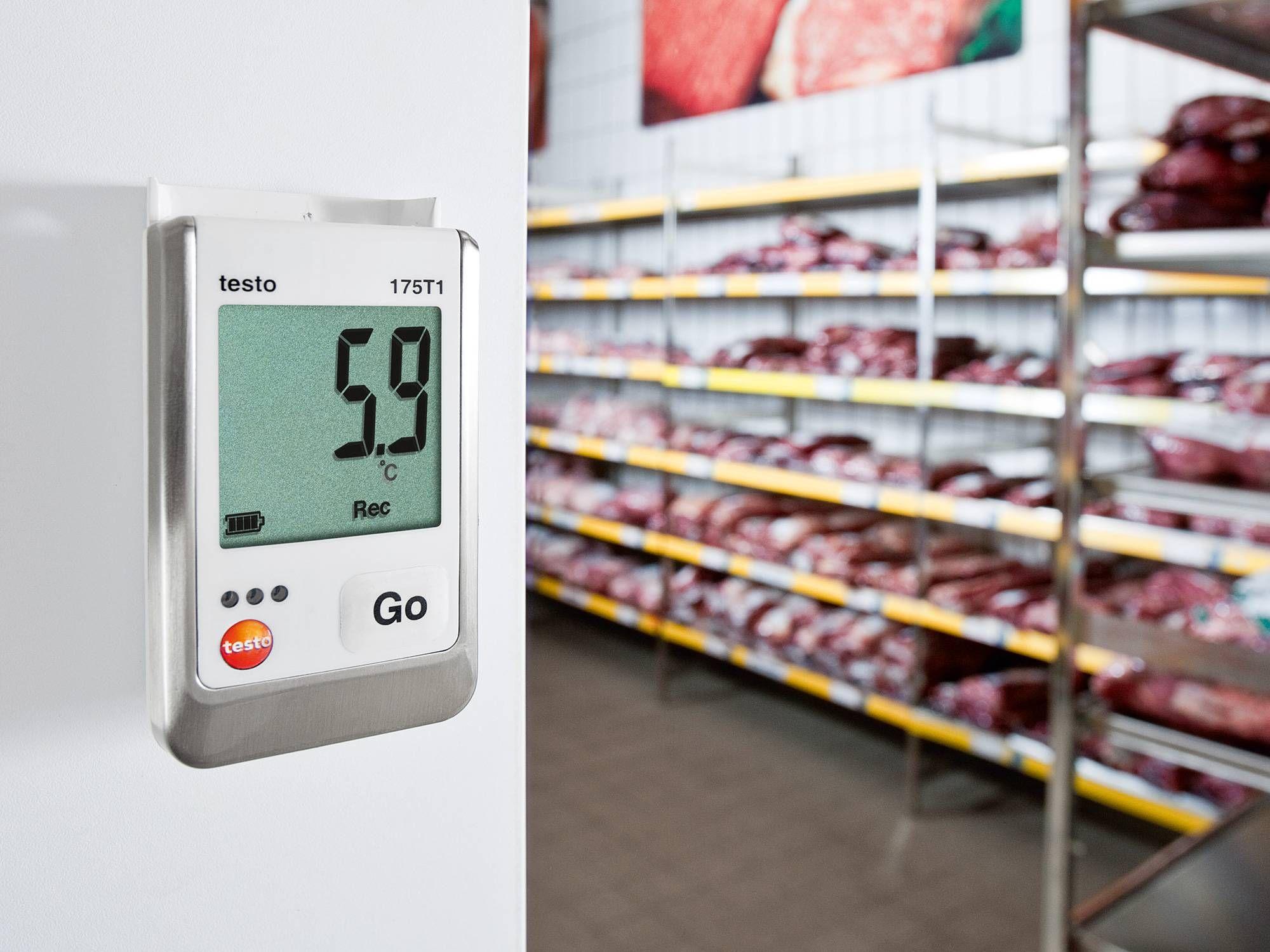 Monitoramento da temperatura em depósitos e armazéns
