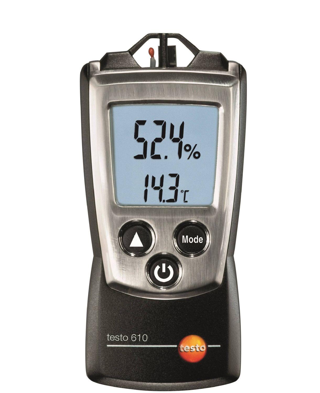 testo 610  vocht- en temperatuurmeter
