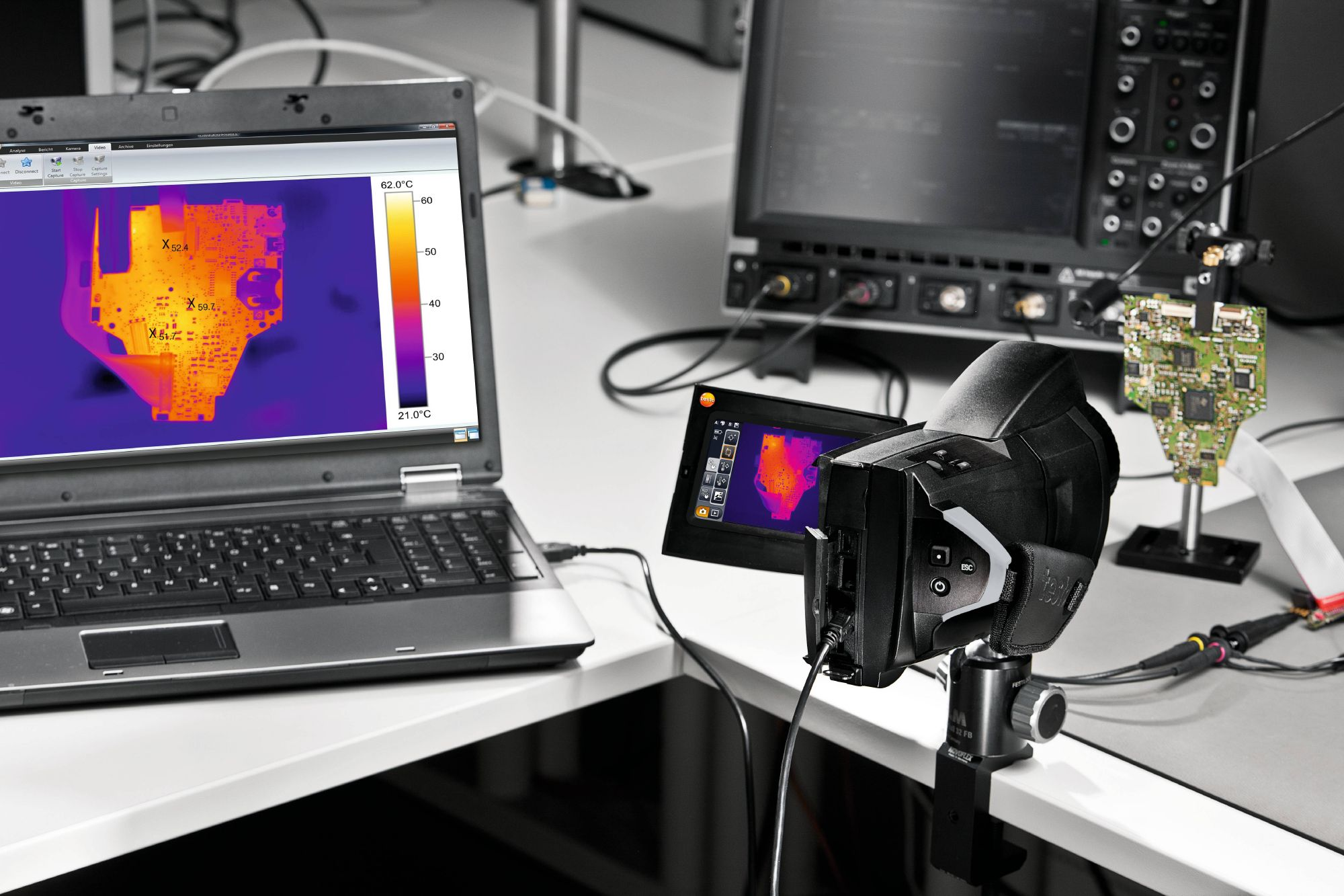 Thermal imagers for research and development