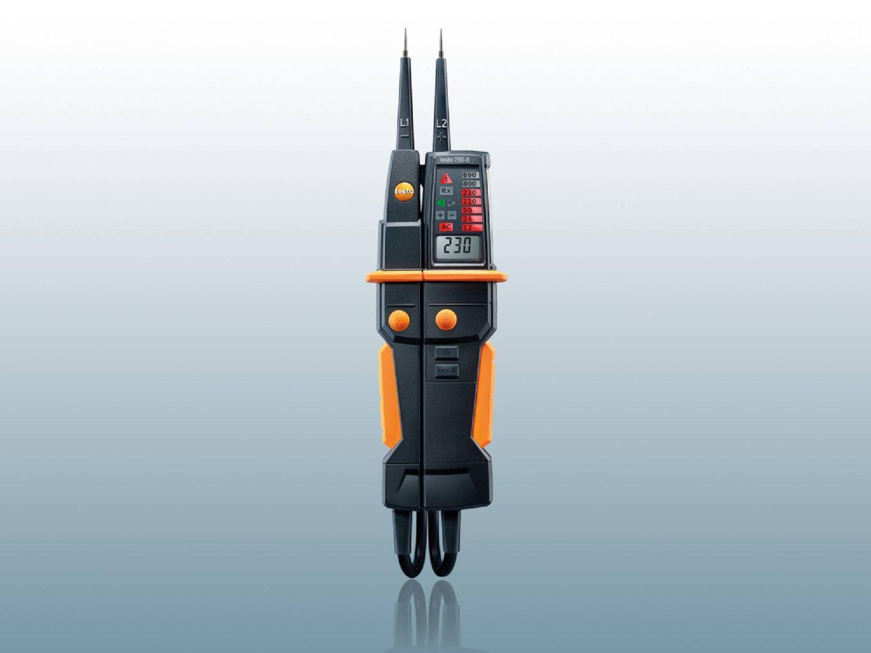 Comprobador de tensión testo 750-3