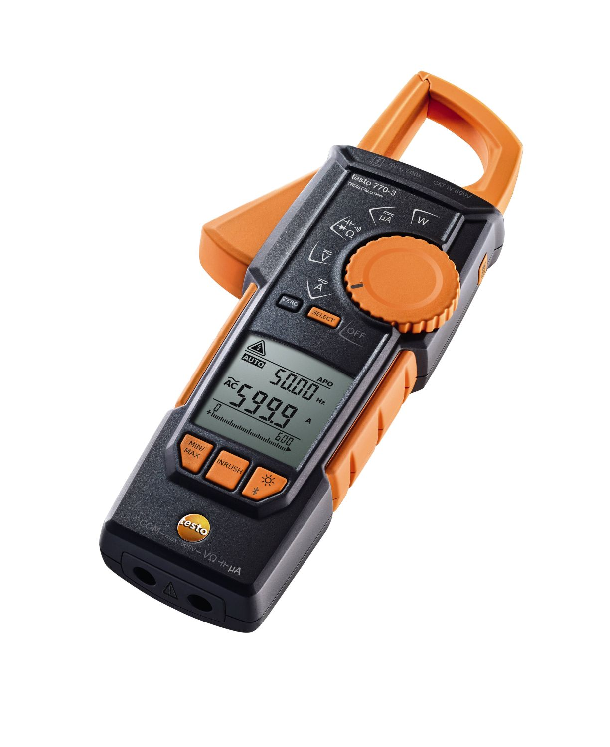Electrical Measuring Instruments By Name : Testo hook clamp meter resistance electrical