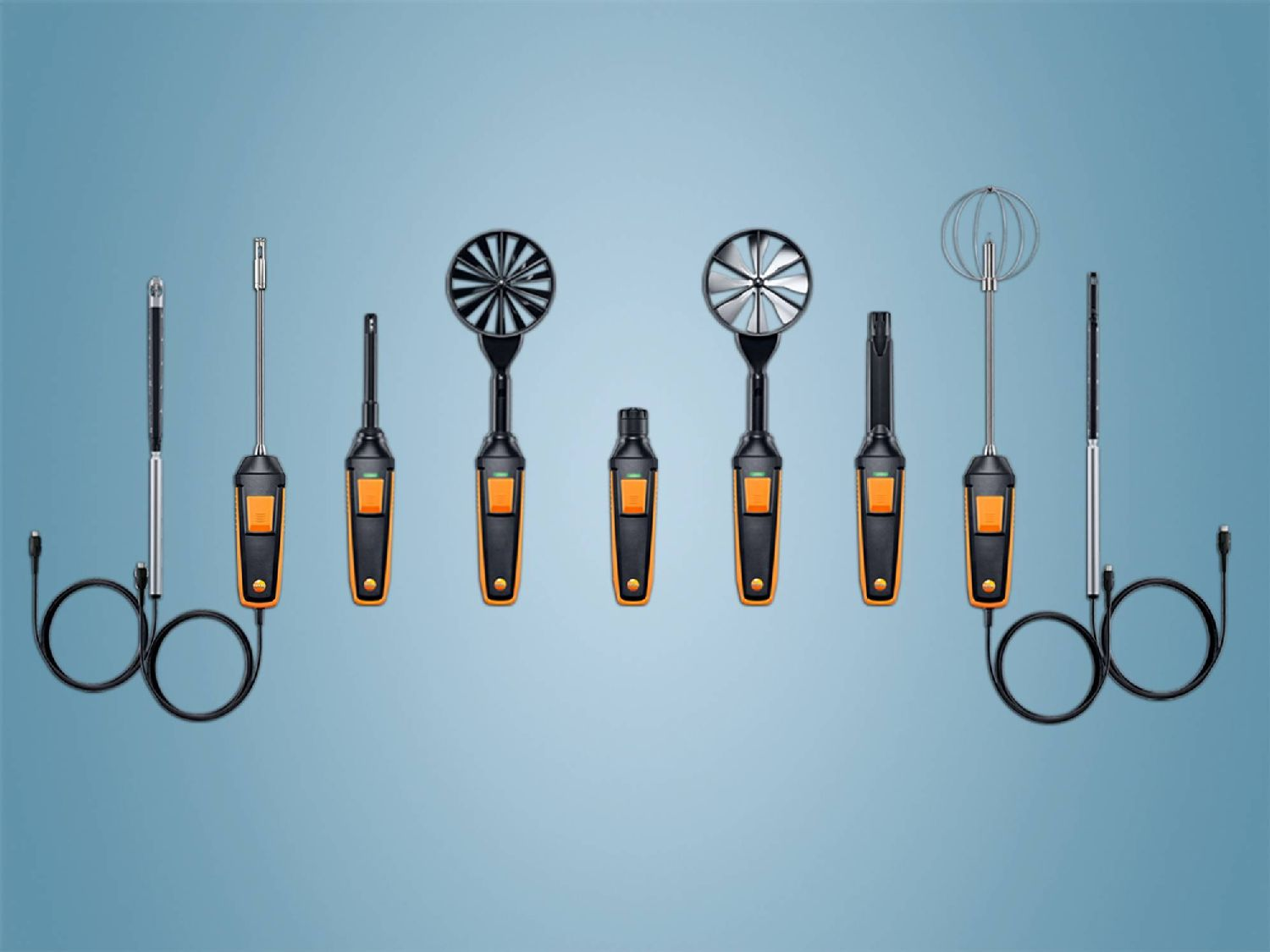 testo 400 probes and accessories