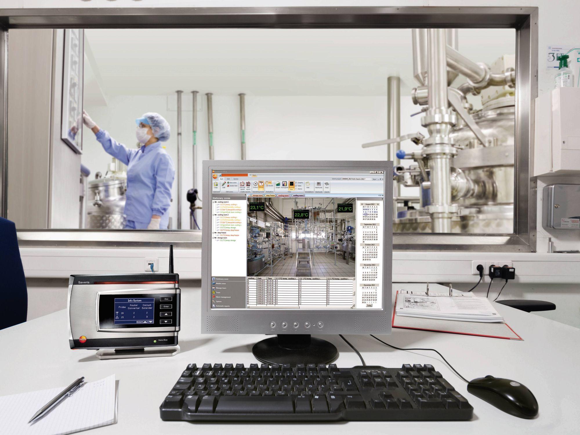 Klimaatbewaking in laboratoria voor levensmiddelen