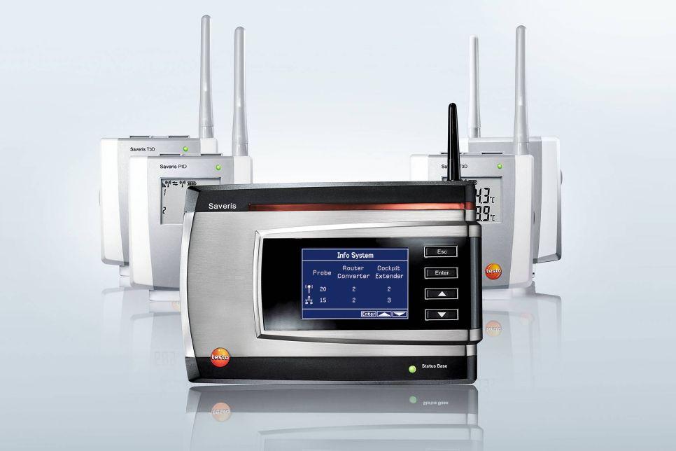 Monitoring temperatury i wilgotności