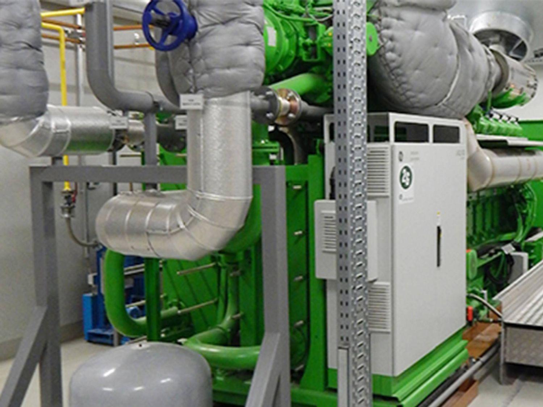 Cogeneration plants