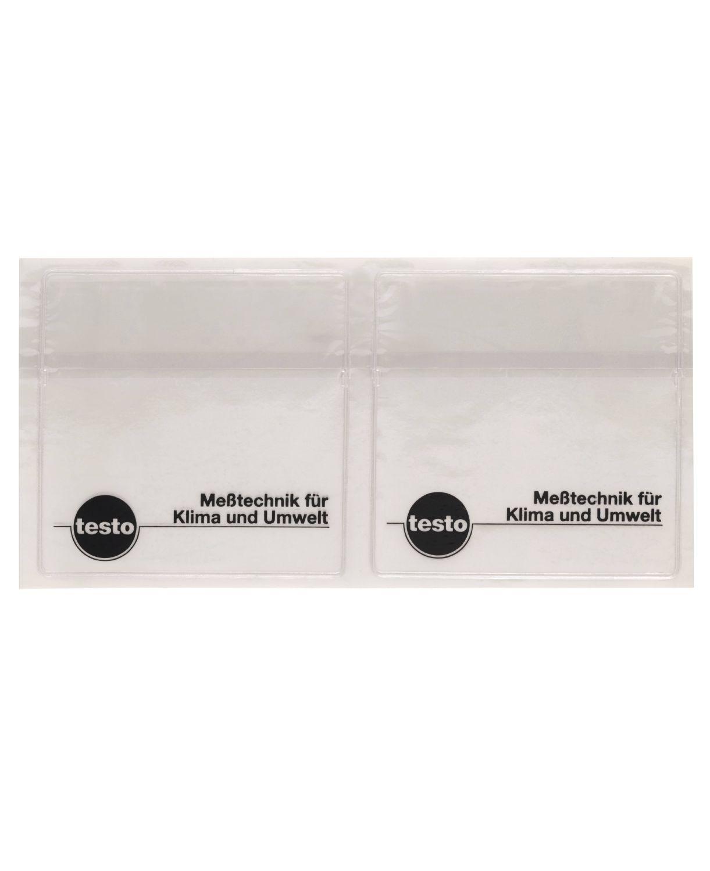 Adhesive pockets