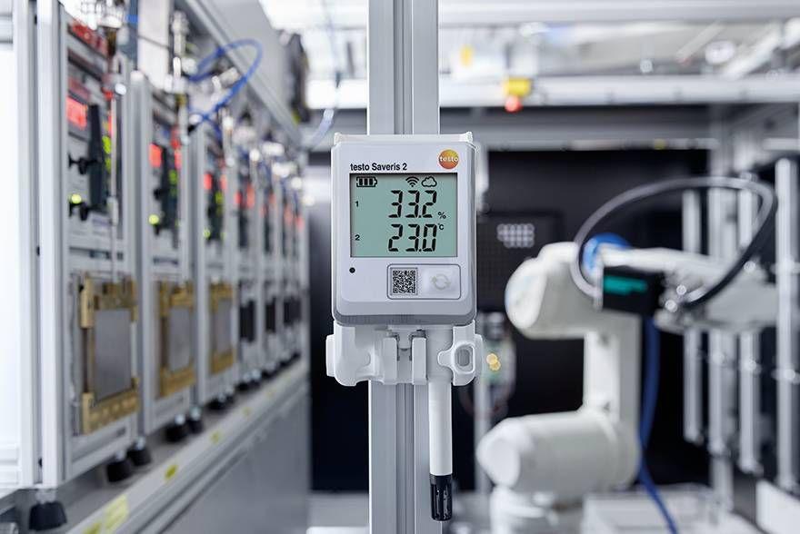 Мониторинг влажности/температуры в помещениях