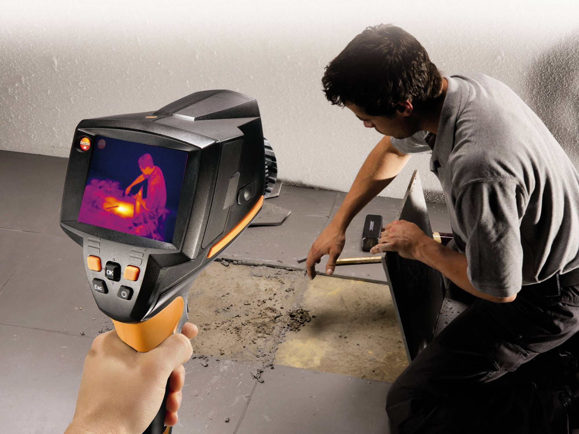Thermal imager testo 875