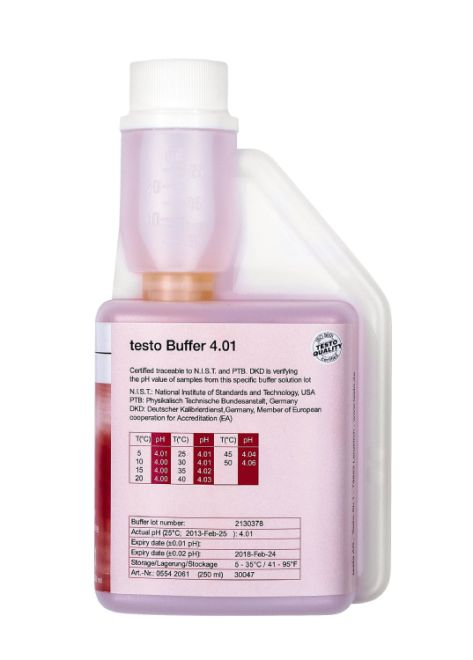 ph buffer solution 4.01