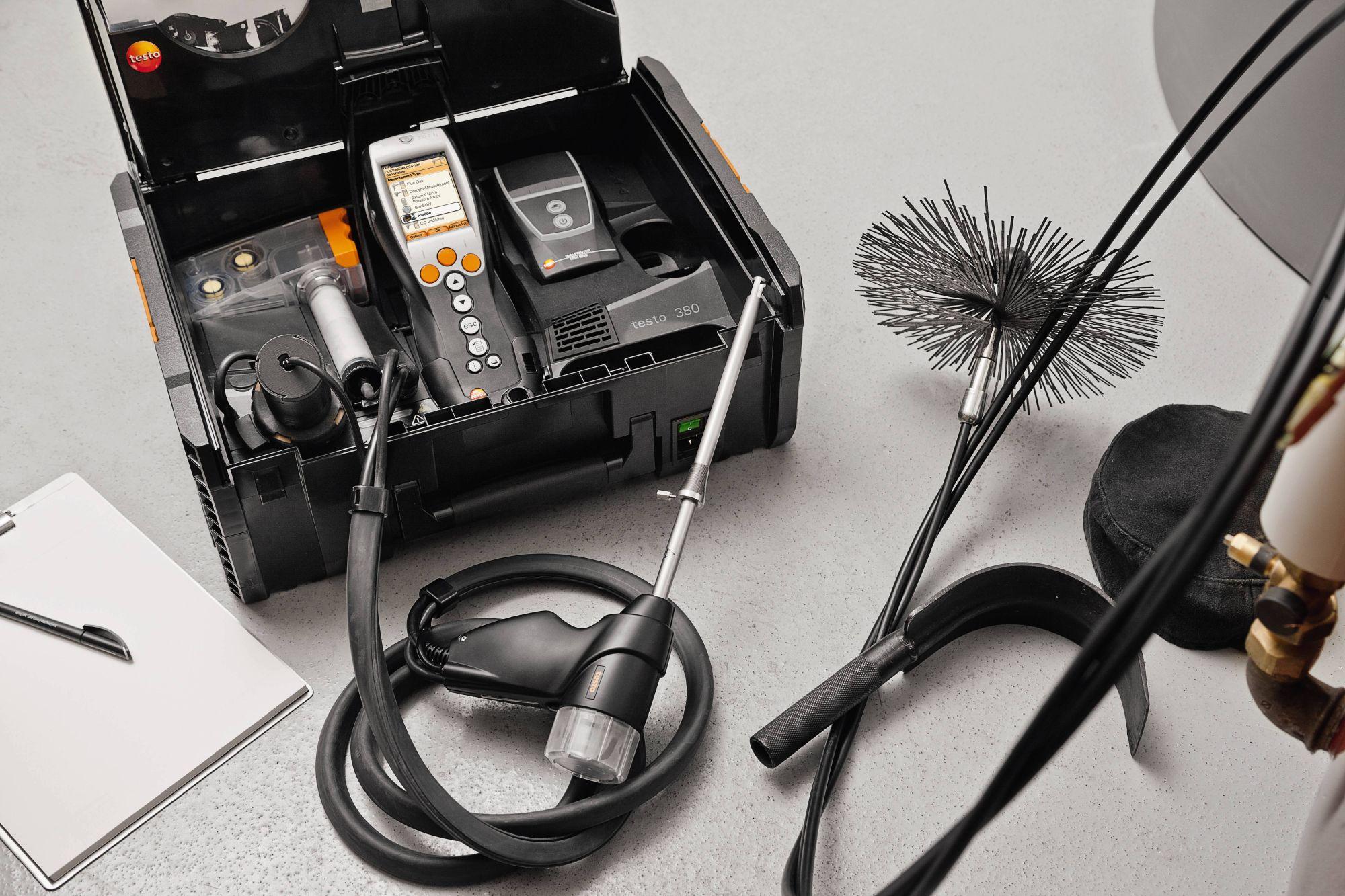 Analyzátor jemných prachových částic testo 380