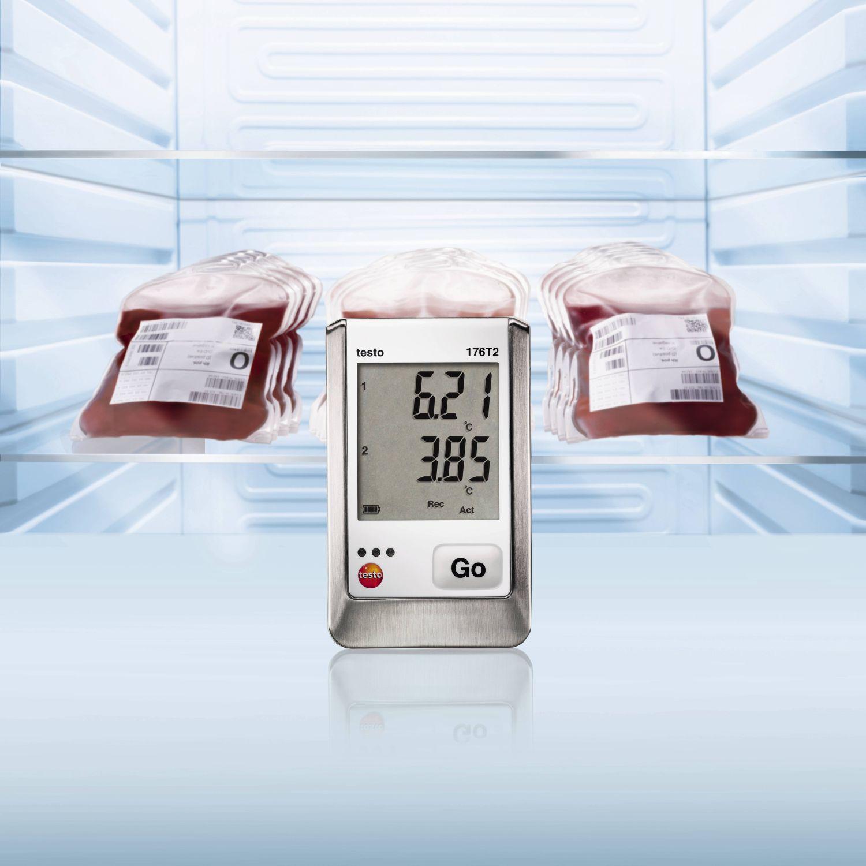 Data logger testo para medicion en neveras y estufas