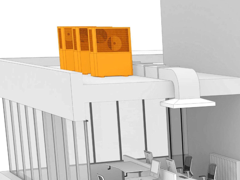 冷房設備とヒートポンプの測定ソリューション