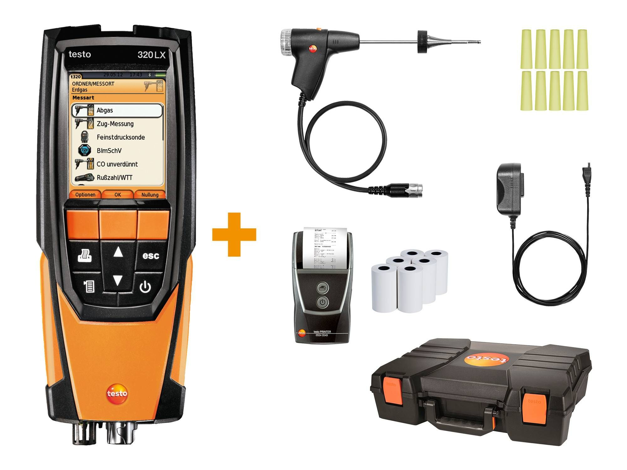 testo 320 LX Jubiläums-Set