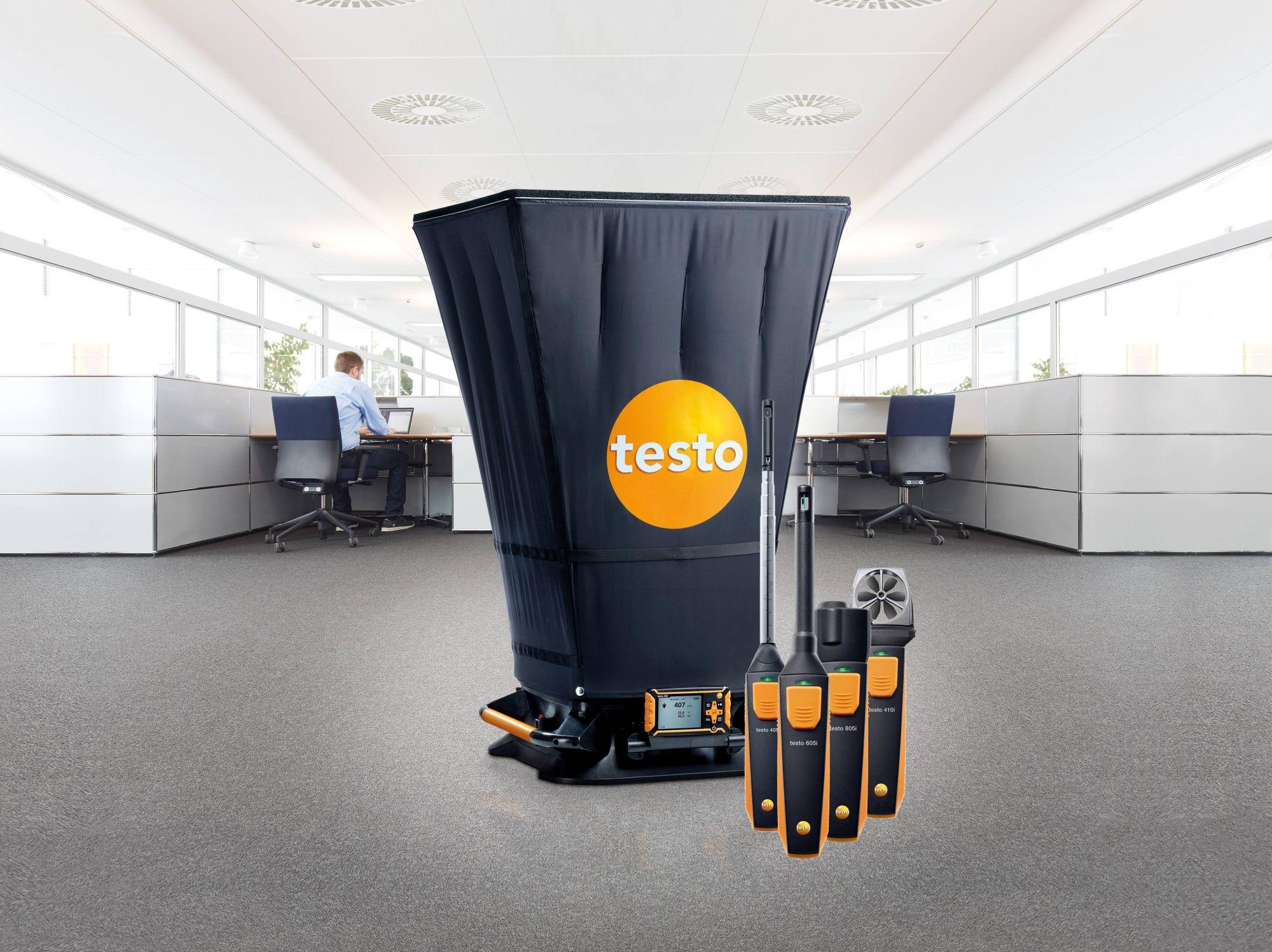 Testo Produkte für Klimamesstechnik
