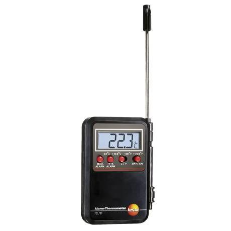 Mini termómetro con alarma
