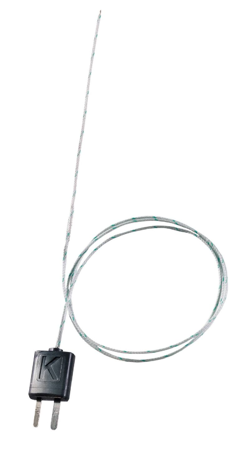 Thermocouple with TC adapter, flexible, 800 mm long