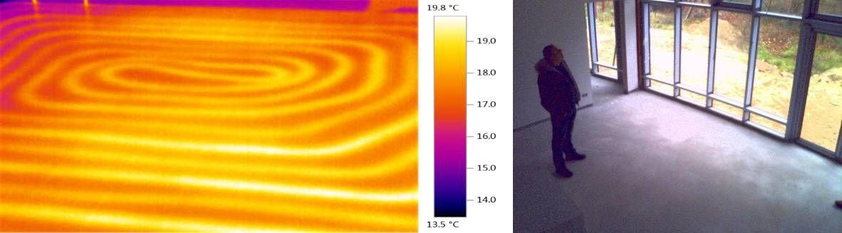 地暖施工验收及供暖效果验证
