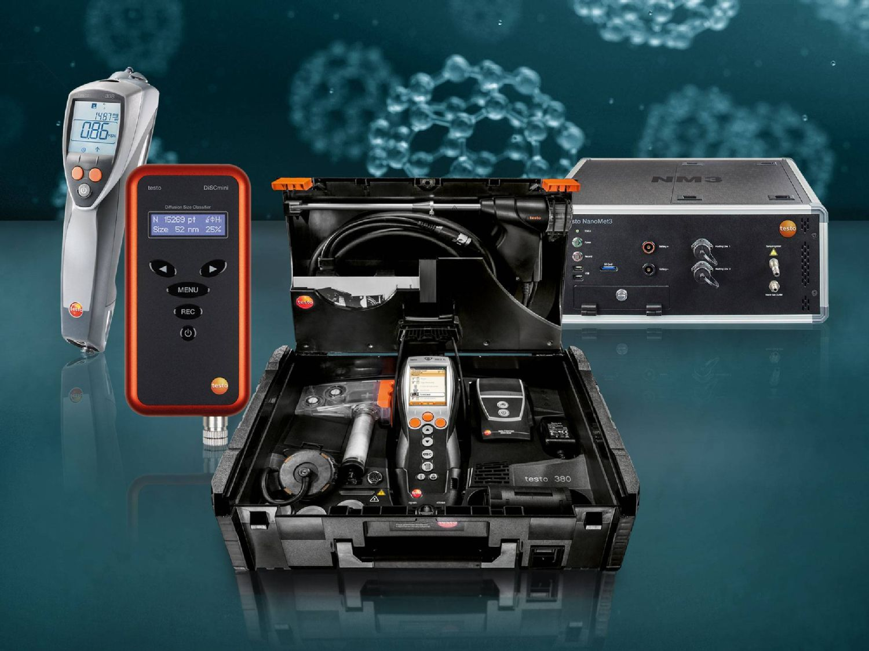 纳米颗粒物的测量应用非常广泛,德图为您提供相应的测量仪器。