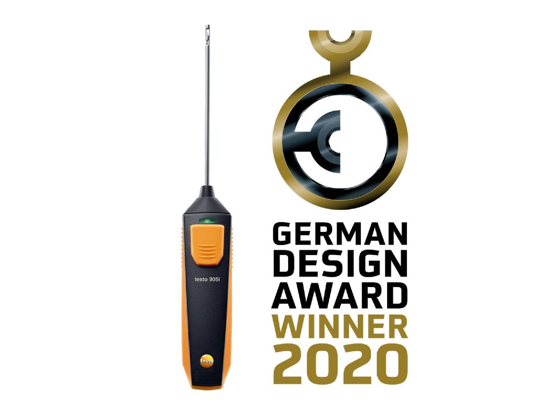 testo 905i German Design Award