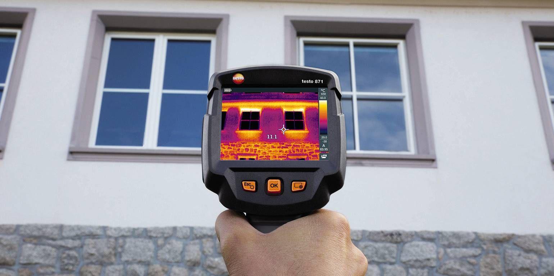 Thermografie an Wohn- und Bürobauten