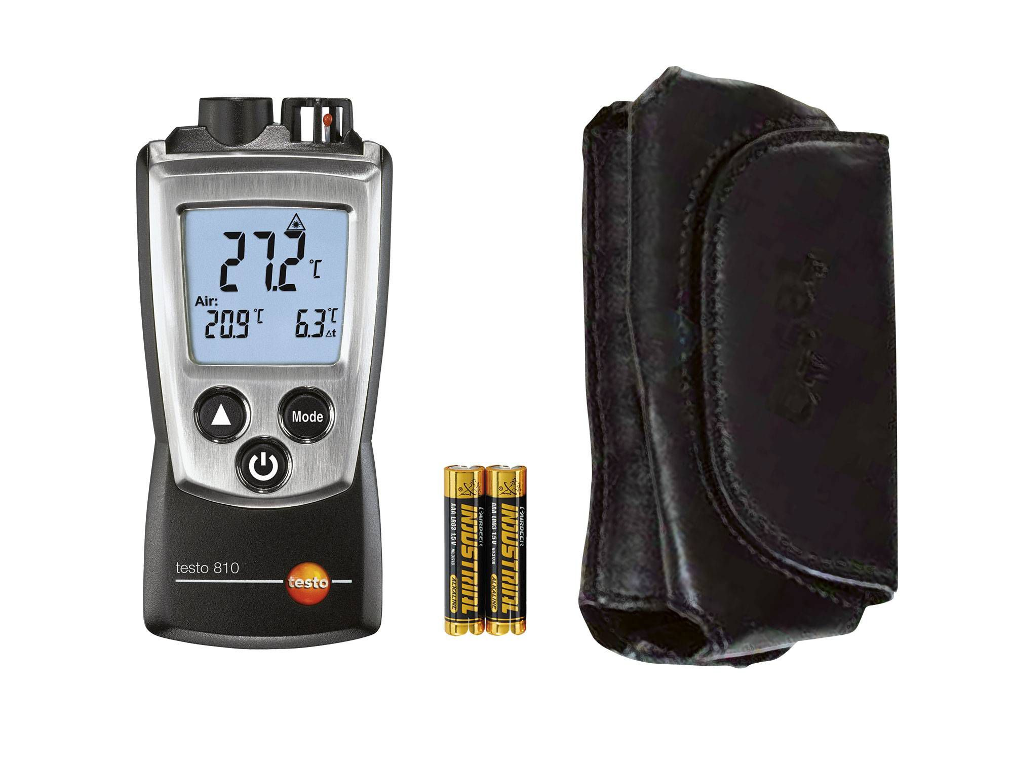testo 810 - Infrared thermometer - Delivery scope