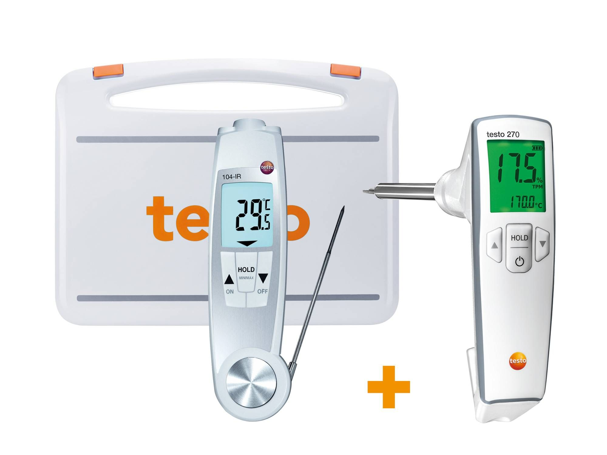 食用油品质检测仪和温度套装