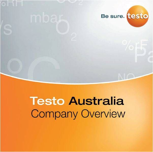 Testo Australia Company Overview