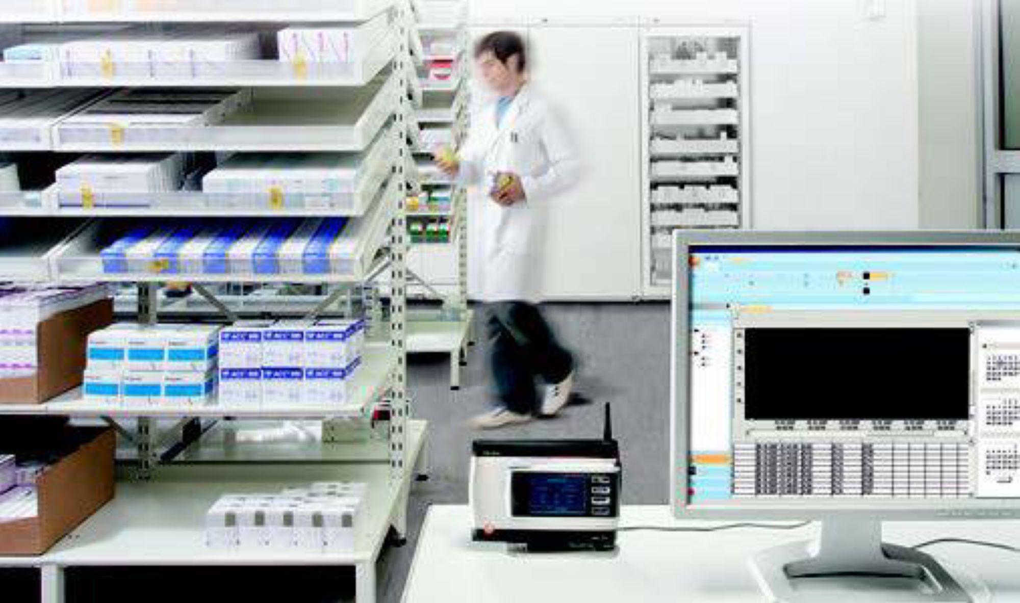 德图testo Saveris温湿度监测系统监测药房温度