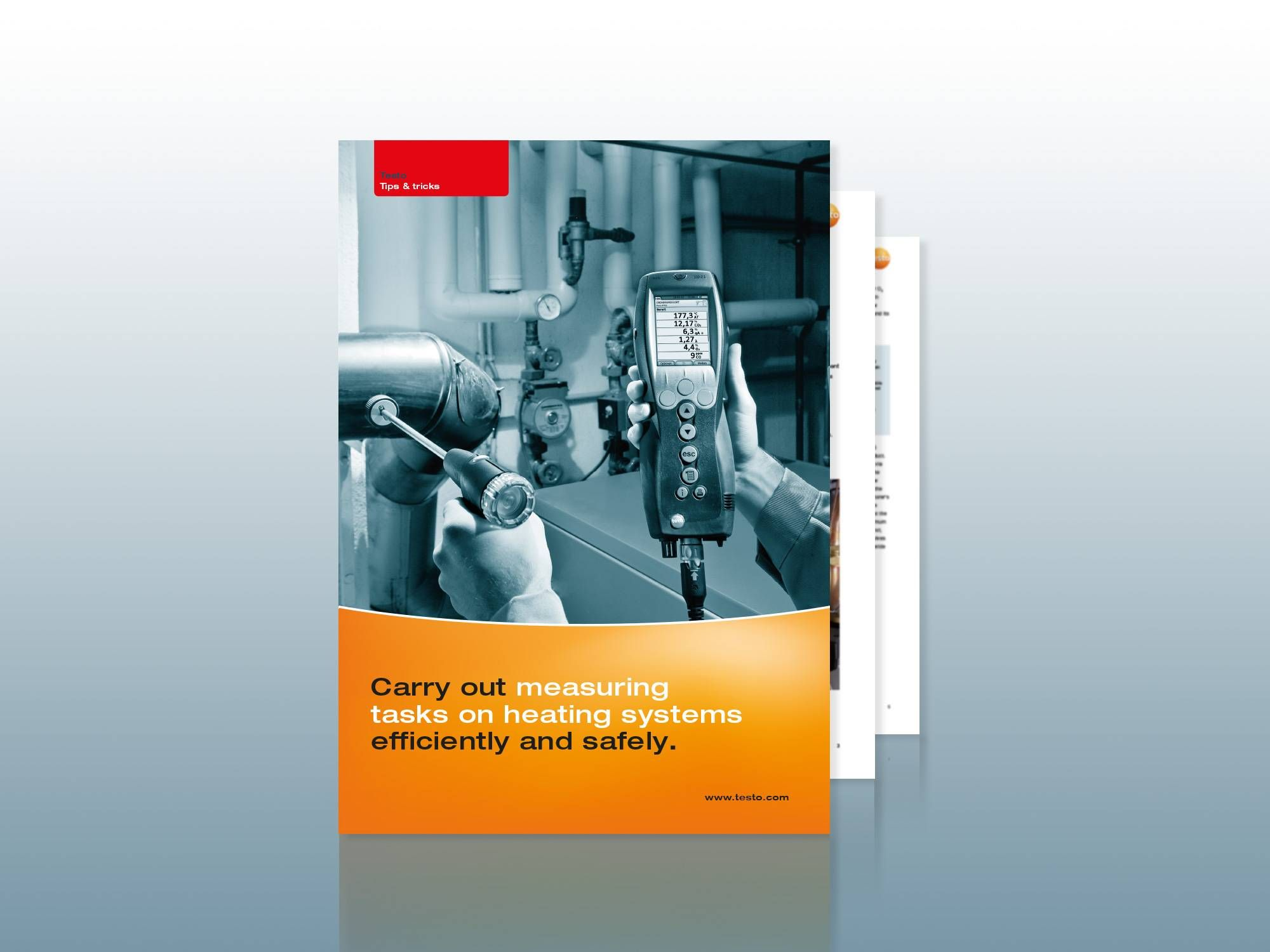 Download Tips and Tricks for flue gas measurement