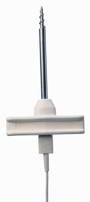 Frozen food probe, corkscrew design