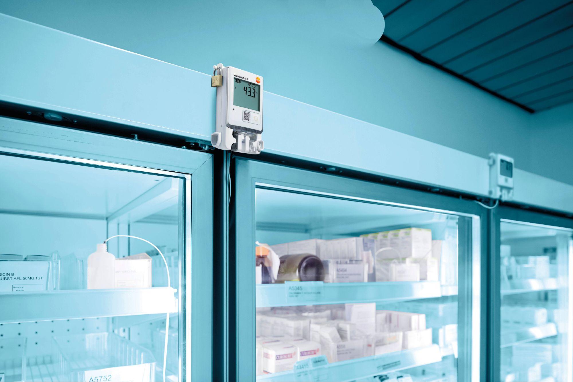 The testo Saveris 2 unit is ideal for temperature data logging.