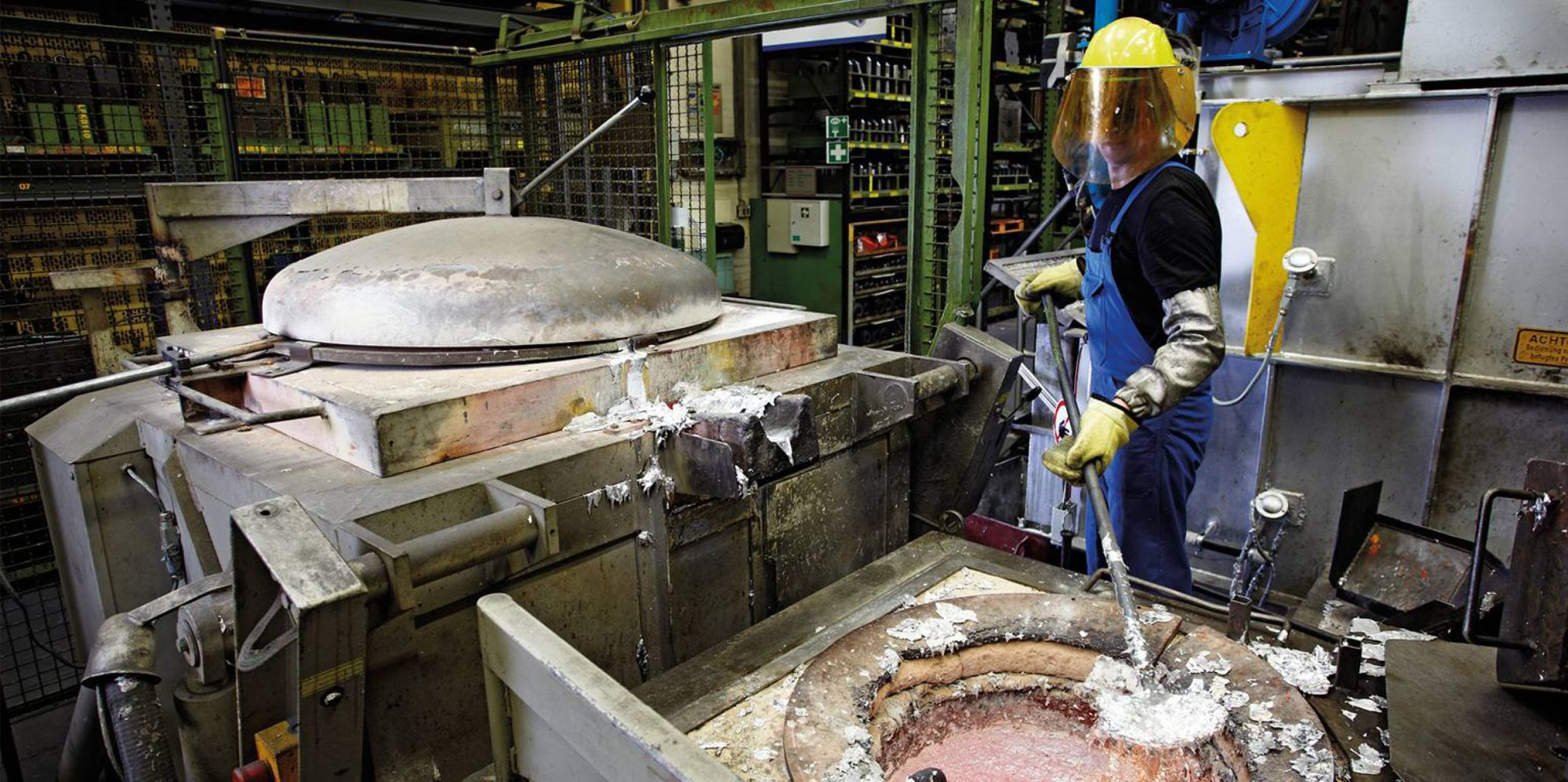Aluminium works