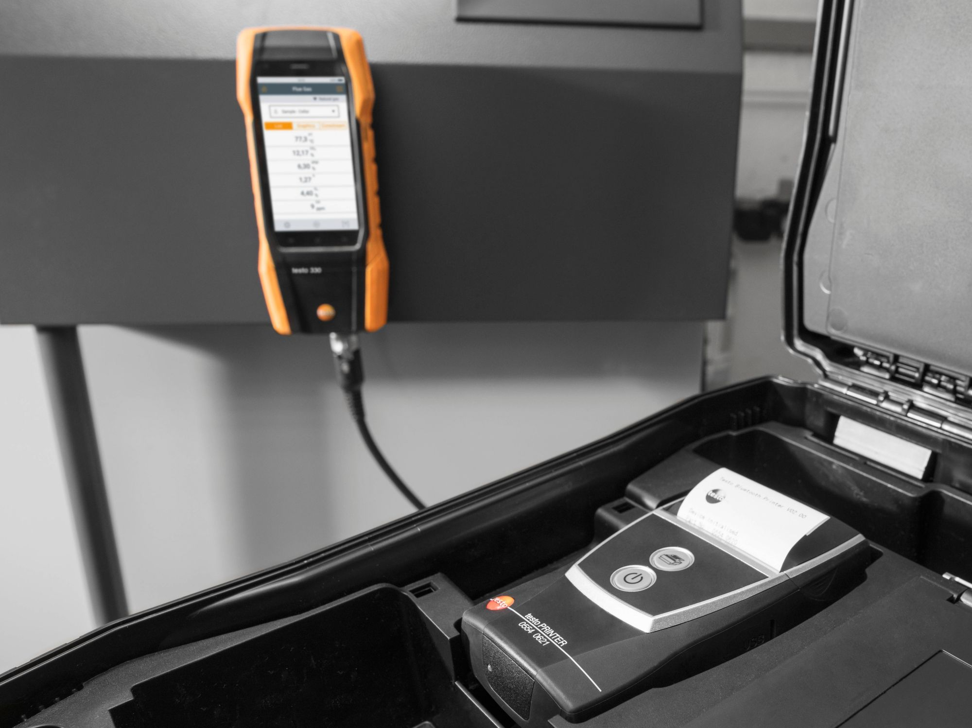 Application testo 300