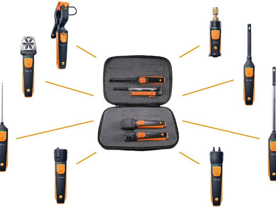 The new Testo Smart Probes