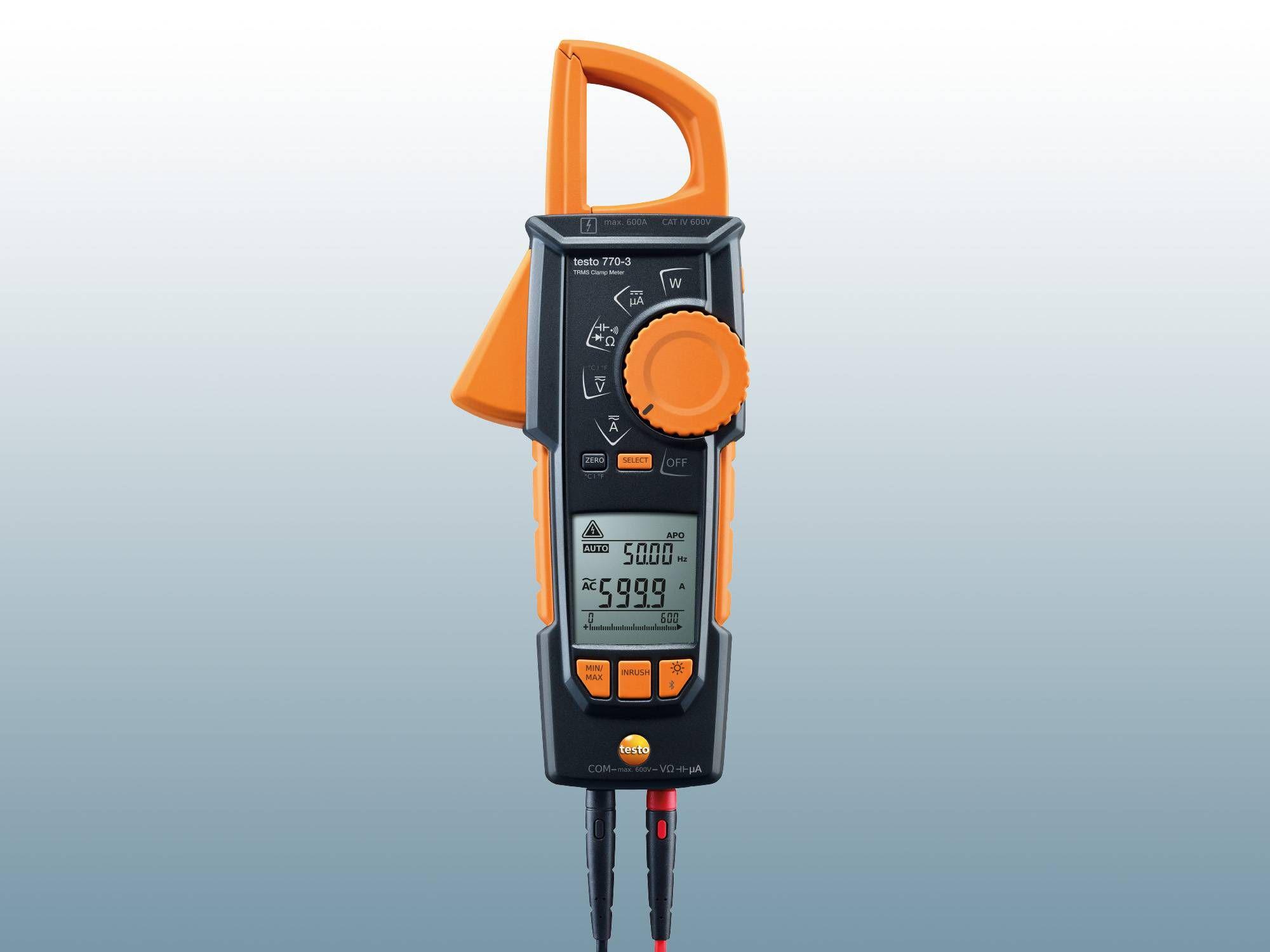 Stromzange testo 770-3