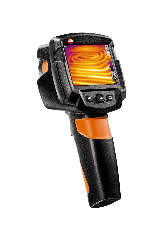 Caméra thermique avec appareil photo numérique avec SuperResolution