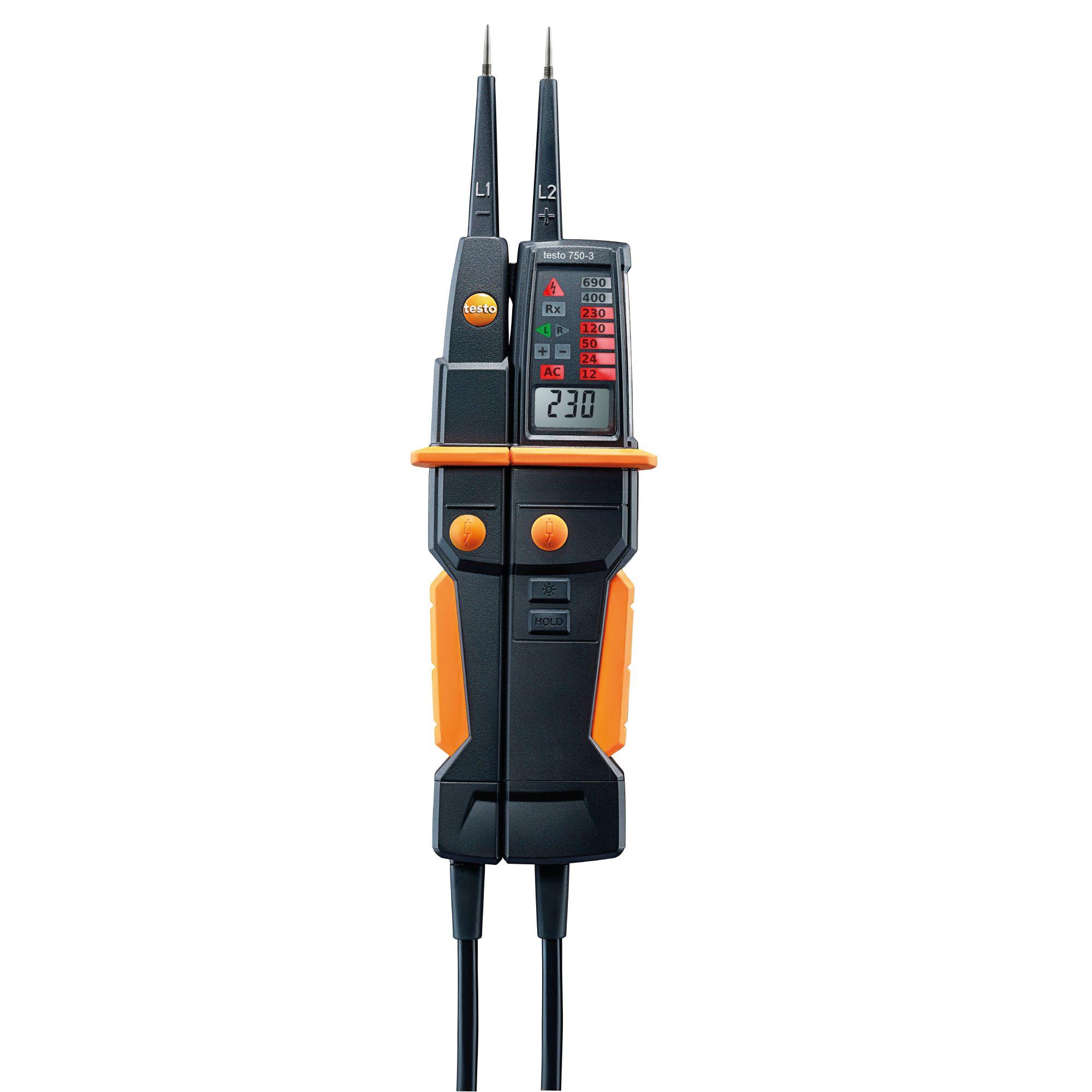 testo 750-3 detector de tensión