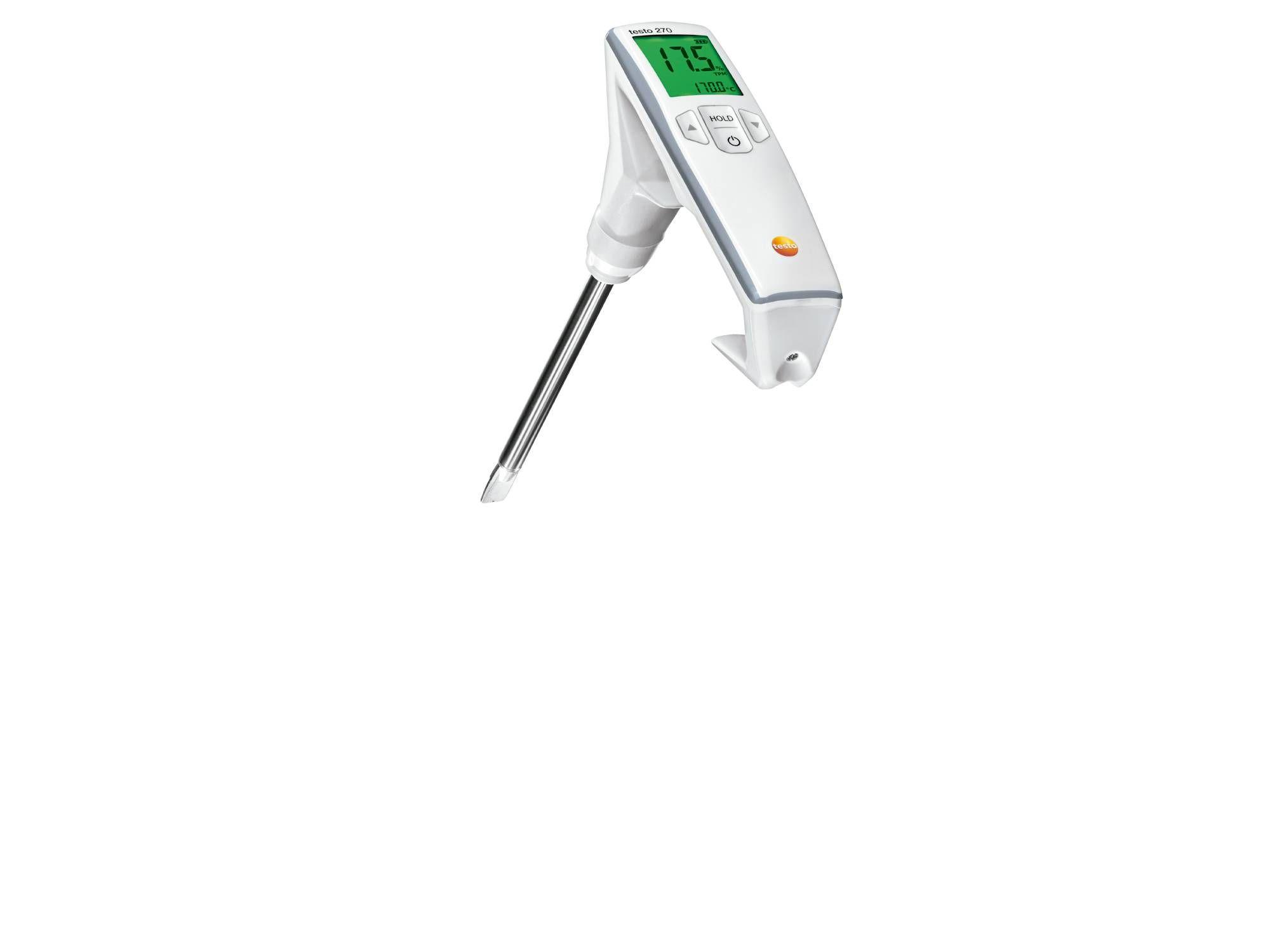 Medidor calidad y temperatura aceite testo 270