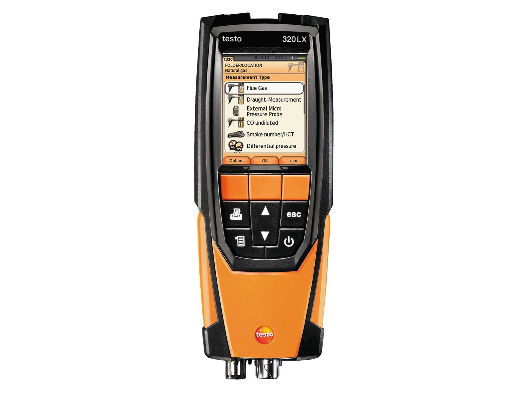 Testo 320 Combustion Analyzer Combustion Flue Gas