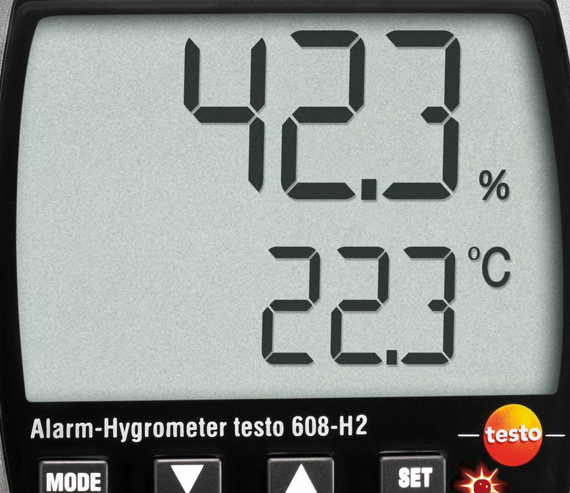 testo 608-H2 thermo-hygromètre