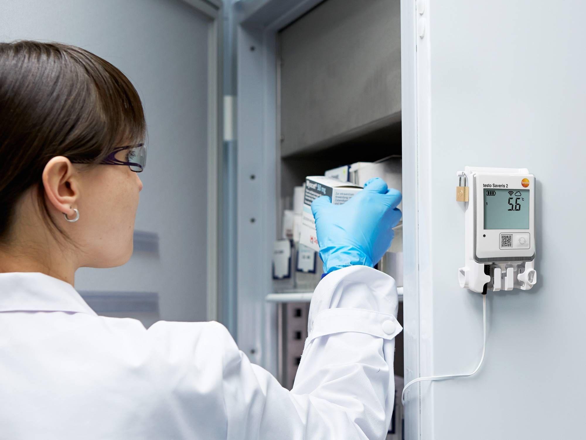 Surveillance de température stockage