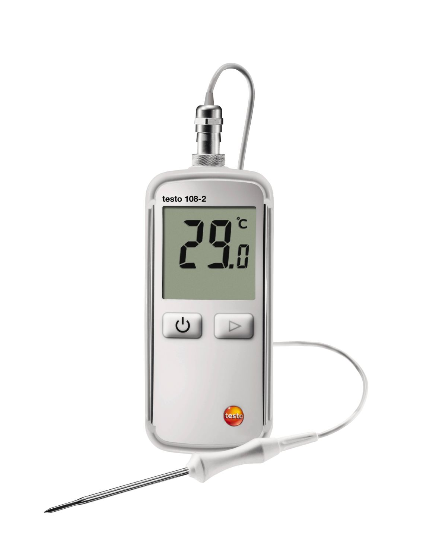 Appareil de mesure de la température avec sonde verrouillable