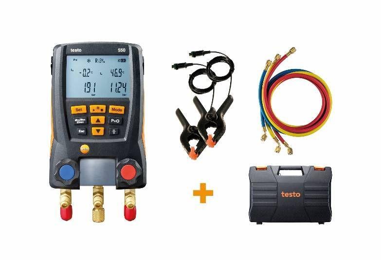 testo 550 digital manifold kit