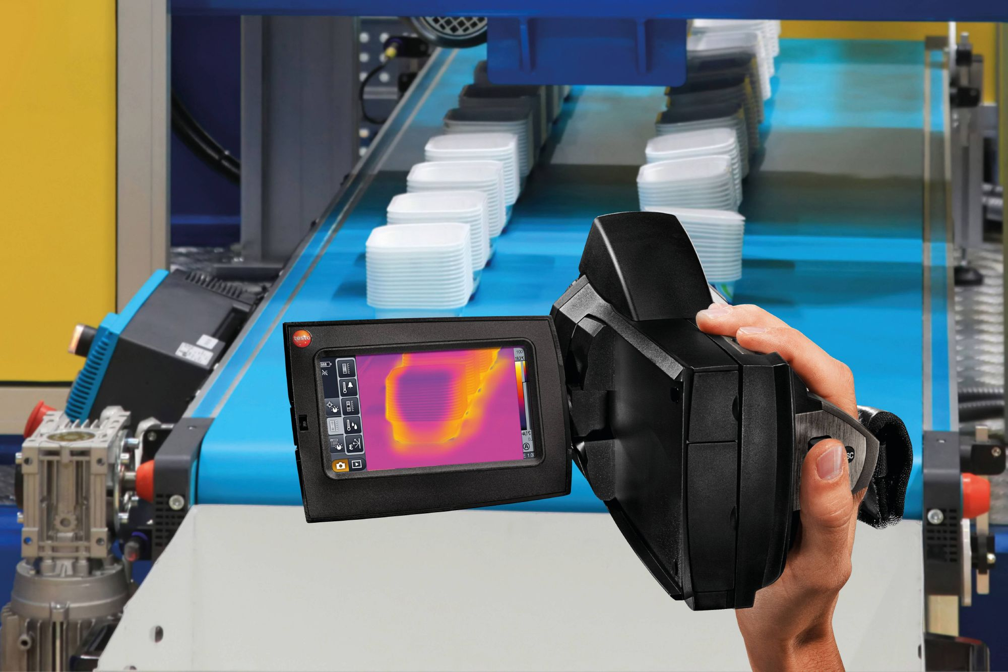 Quality control and assurance with thermal imagers