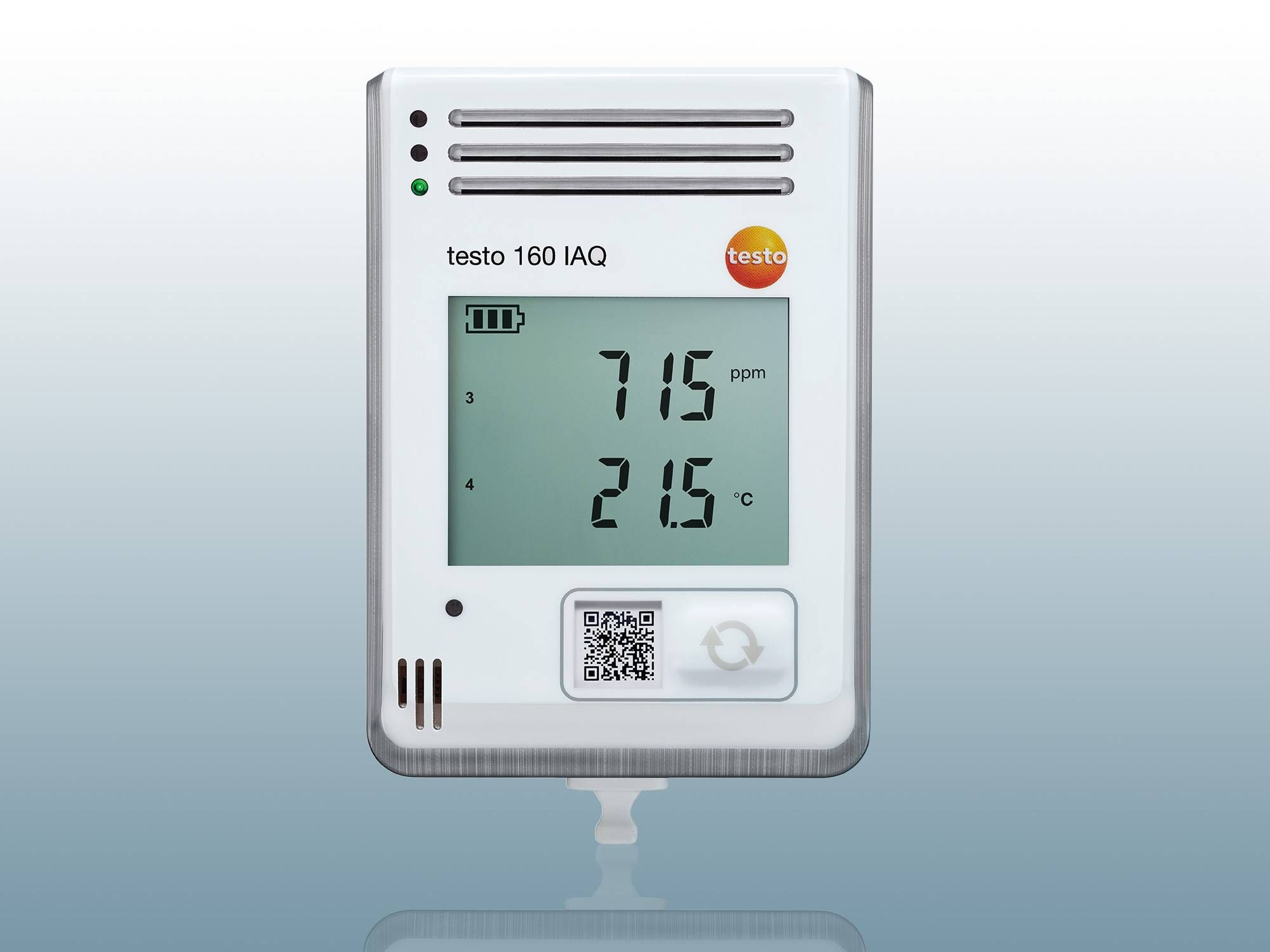 CO₂ data logger testo 160 IAQ