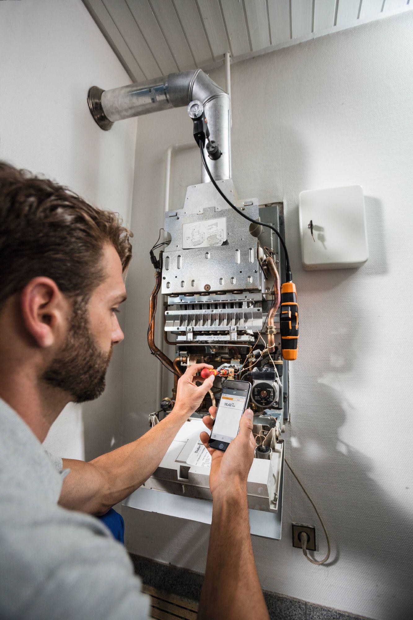Messaufgaben an Heizungsanlagen effizient und sicher durchführen