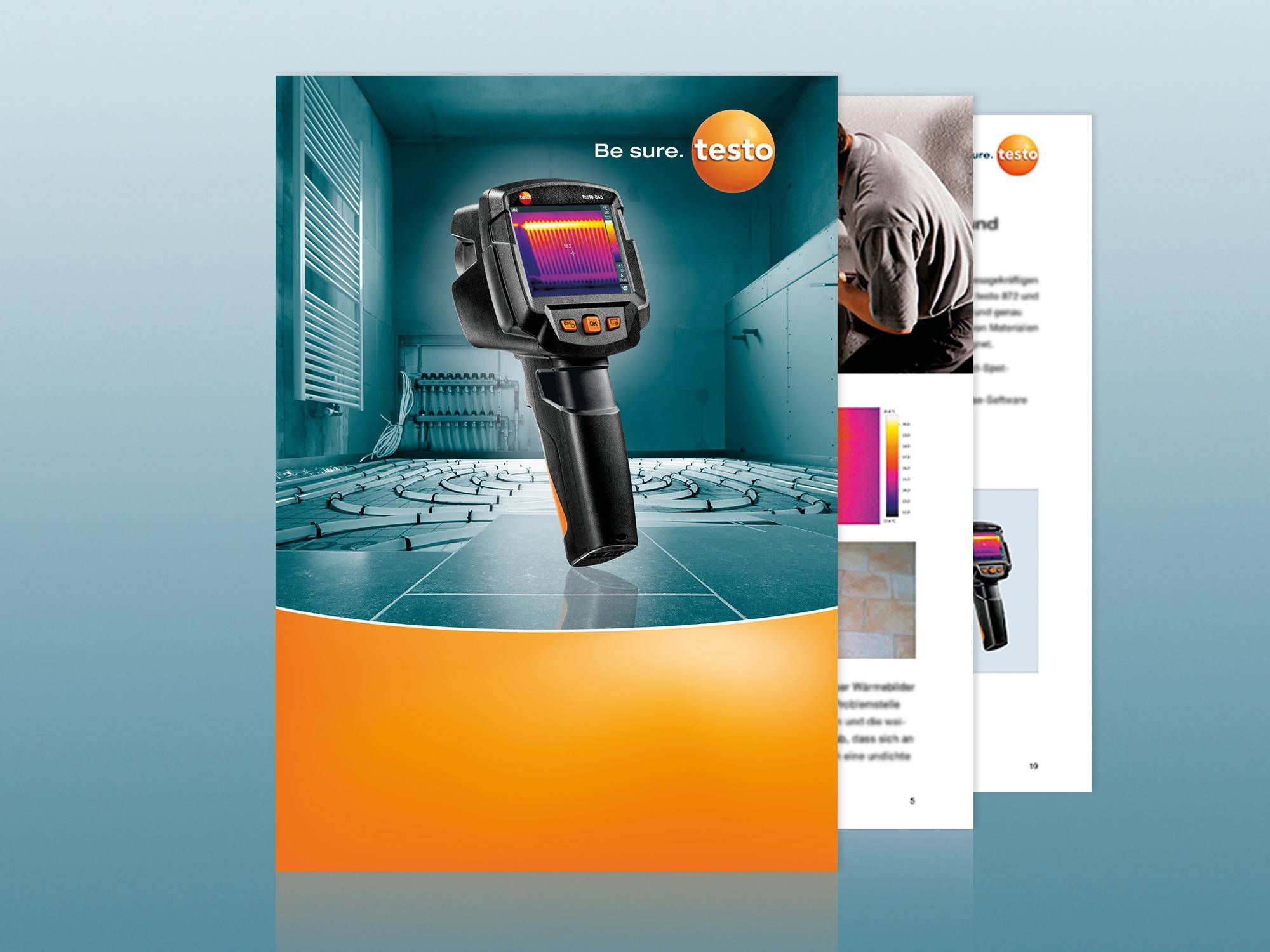Application guide thermography