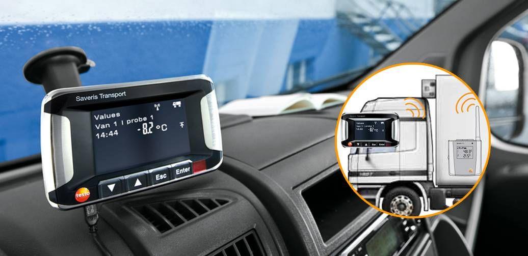 testo Saveris 监测系统在冷链运输中的应用