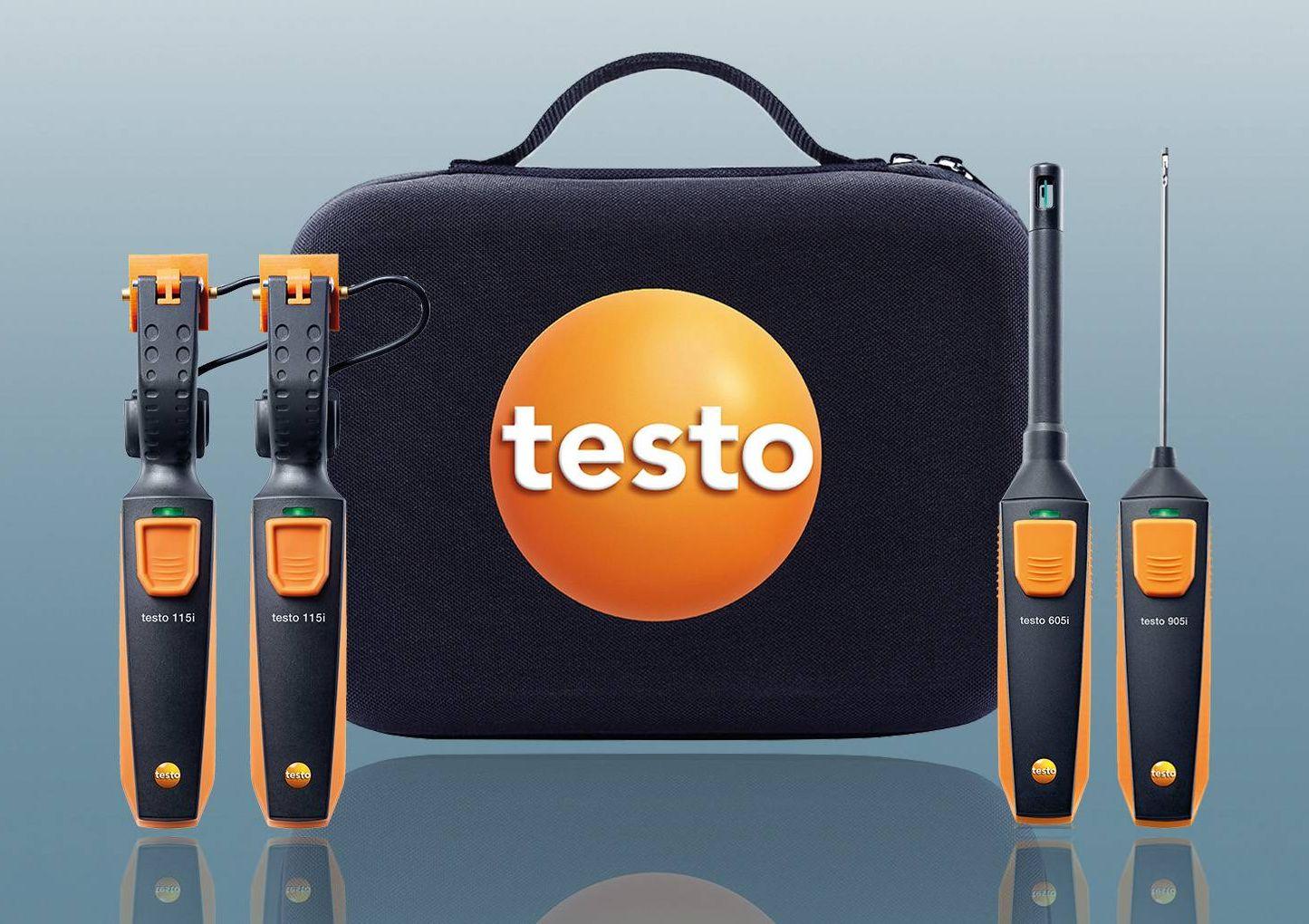testo Smart Probes Anwendung Differenztemperatur