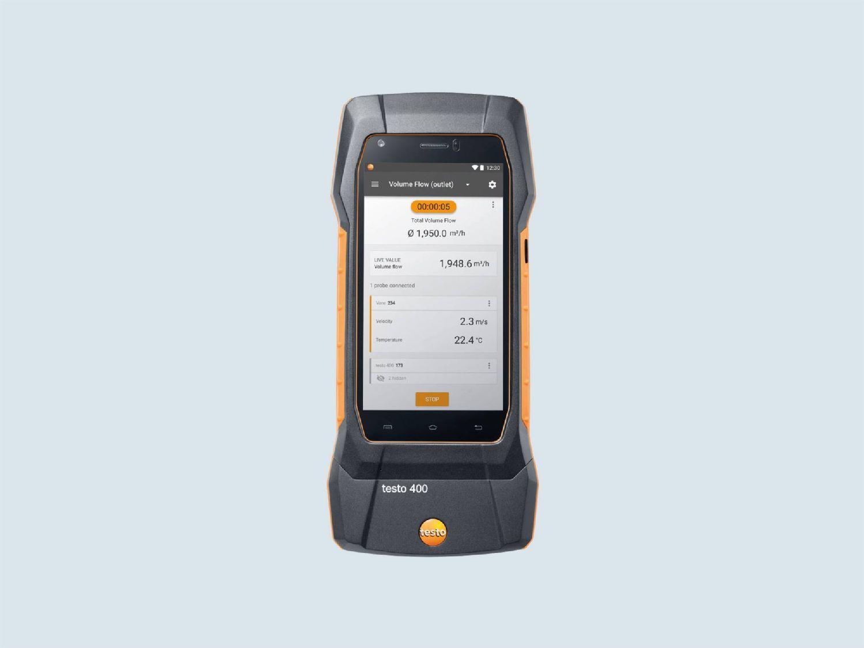 Testo humidity measuring instrument